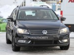 Euro-spec 2014 Volkswagen Passat test-mule spy shots