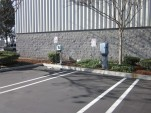 EV charging station at Costco