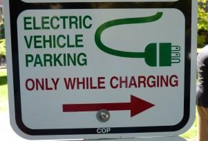 Park A Regular Car In Electric-Car Space? In WA, It'll Cost Ya: $124