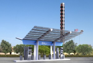 EVgo breaks ground on DC fast-charging station prepared for up to 350 kW
