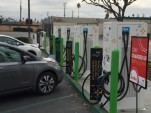 EVgo DC fast-charging site in Fremont, California