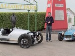 Evo tests the Morgan 3-Wheeler against the Caterham Seven 160