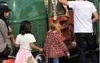 Ewan McGregor Goes Back To The Garden In A Vintage VW Bus