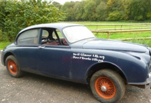 Ex-Pink Floyd Jaguar Mk 2 prepped for La Carrera Panamericana on eBay UK