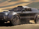 Excite Rallye Raid Team Range Rover Evoque Dakar race vehicle