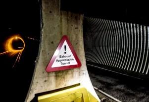 Exhaust Appreciation Tunnel