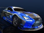 F Performance Racing 2016 Lexus RC F GT3 race car, 2015 SEMA show