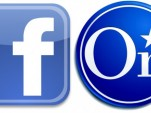 Facebook and OnStar logos