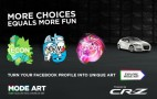 Honda Uses Facebook To Promote Another Controversial Model: The CR-Z
