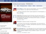 Facebook page for the Honda Accord Crosstour