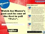 Facebook promo for Volkswagen's Marco Polo game