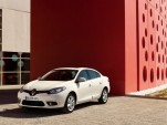 Facelifted 2013 Renault Fluence electric sedan