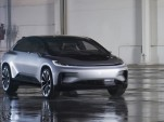 Faraday Future unveils FF 91, its first production electric car; deposits open, no price given