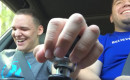 Father lets his blind autistic son shift gears in his Subaru WRX STI