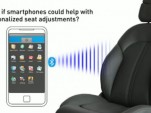 Faurecia's SmartFit Bluetooth-linked seats
