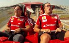 Video: Felipe Massa And Fernando Alonso Ride Worlds Fastest Roller Coaster