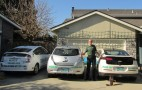 Three is a Magic Number: One Family Gets Volt, LEAF and Prius