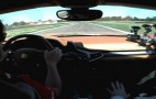 Fernando Alonso Slides Ferrari 458 Around Track: Video