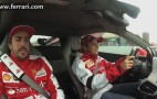 Fernando Alonso And Felipe Massa Wring Out A 458 Italia: Video