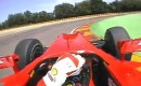 Fernando Alonso tests the 2010 Ferrari F1 car at Fiorano
