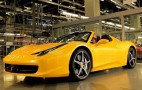 Fernando Alonso Tests The Ferrari 458 Spider In Maranello: Video