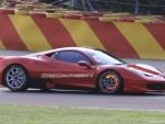 Ferrari 458 Challenge spy shots