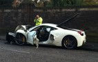Ferrari 458 Italia Crashes In Scotland