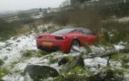Another Ferrari Crashes, This Time A 458 Italia