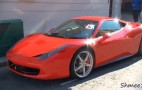 Father Teaches Son To Drive With Ferrari 458 Italia: Video