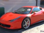 Ferrari 458 Italia driving lesson