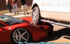 Close Up Images Of Ferrari 458 Italia And Ford F-150 Crash