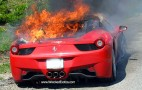 UPDATE: Watch A Ferrari 458 Italia Melt Completely