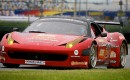 Ferrari 458 Italia on the road course at Daytona International Speedway Photo courtesy: Grand-Am