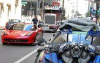 Ferrari 458 Italia Spotted On The Set Of Transformers 3 Movie