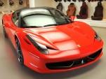 Ferrari 458 Italia Personalization