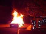 Ferrari 458 Italia set on fire in insurance fraud attempt - Image via Augsburg Police