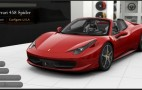 Ferrari 458 Spider Configurator Builds Your Perfect Roadster