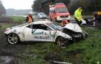 Brand New Ferrari 458 Italia Crashed During Test Drive
