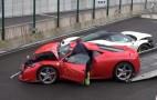 It's A Ferrari Smashtravaganza At Spa Francorchamps: Video