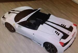 Ferrari 458 VS Spider leaked (Image via 4WheelsNews)
