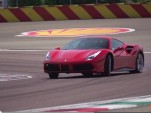 Ferrari 488 GTB at Fiorano