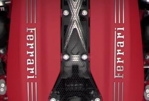 Ferrari 488 GTB engine examination