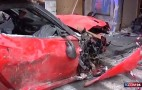 Ferrari 599 GTO Crashed By Valet Is A Write-Off: Video
