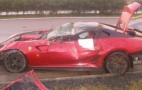 Ferrari 599 GTO Crashed In Czech Republic