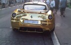 Today's Heinous Car Pic: Goldfinger Ferrari 599