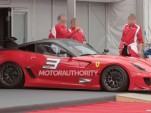 Ferrari 599XX Evolution spy shots