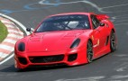 Video: Ferrari 599XX Breaks 7-Minute Barrier Around Nurburgring