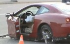 Ferrari 612 Scaglietti Torn Apart During Crash: Video