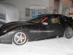Ferrari 612 Scaglietti Shooting Brake spy shots
