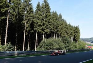Ferrari at the 2015 Formula One Belgian Grand Prix
